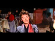 """Lovely Sophia Loren in Hydra island, singing in Greek and dancing ... From the movie 'Boy on a Dolphin"""" (1957)... A real gem!"""