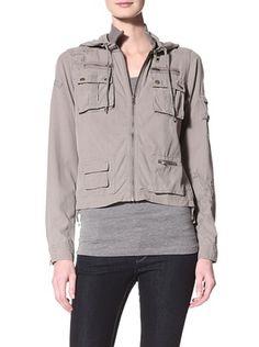 73% OFF DA-NANG Women's Woven Jacket (Ash)