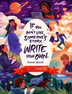 Goodreads - Simini Blocker Illustration