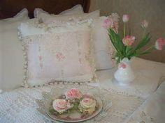 romantic shabby chic pillows