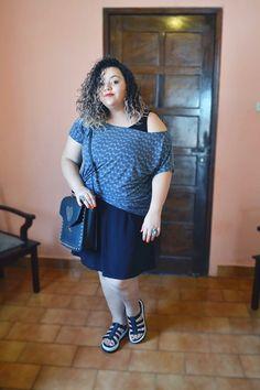 Look Plus Size platafamora Flox III melissa - Blog Avontade