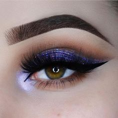 Gorgeous makeup! Done by @forgetmenotchloe 💟 #purplemakeup #purplehighlighter #purpleeyeshadow #eyebrow #browgoals #goals #inspiration #shapedbrows #makeupinspiration #makeupgoals #dipbrow #matteeyeshadow #metalliceyeshadow #glitter #highlighter #shimmer #eyemakeup #makeup #mua #makeupartist #lashes #falsies #falselashes #eyeliner #wingedeyeliner