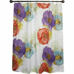 jcp home™ Camille's Garden Shower Curtain - jcpenney  I've got to have this!