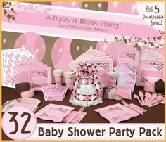 baby shower theme ideas for girls
