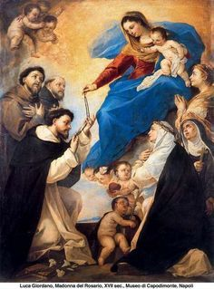 Výsledek obrázku pro maria et st. dominic rosarium