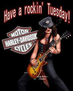 If slash had a sister Motor Harley Davidson Cycles, Harley Davidson Motorcycles, Biker Chick, Biker Girl, Harley Davidson Decals, Harley Shirts, Biker Shirts, Biker Quotes, Biker Style