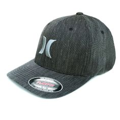 ab3ecad6 Details about HURLEY Dri-Fit Phantom Vapor 4.0 Flexfit hat cap surf flex fit  - SAME DAY SHIP. Black ...