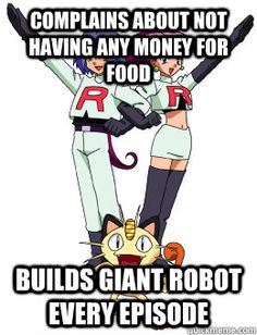Team Rocket complains at the speed of light but makes giant robots that can figh… – Poke Ball - Poke Ball Pokemon Funny, Pokemon Memes, Pokemon Go, Pokemon Stuff, Pokemon Fusion, Pokemon Cards, Gotta Catch Them All, Catch Em All, Pokemon Team Rocket