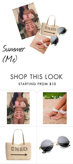 """pool party"" by summer-kbreezy on Polyvore featuring Style & Co., women's clothing, women, female, woman, misses and juniors"