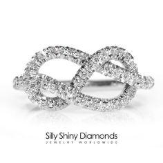 Infinity Knot Ring  The Original Silly Shiny by SillyShinyDiamonds ✿