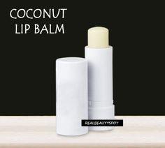 DIY Coconut Lip Balm