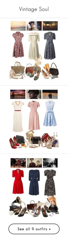 """""""Vintage Soul"""" by giovanna1995 ❤ liked on Polyvore featuring Wolford, Shabby Chic, Orla Kiely, Sebastian Professional, France Luxe, Nomad, Crate and Barrel, Seychelles, vintage and L'Wren Scott"""