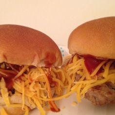 Low fat turkey burgers!