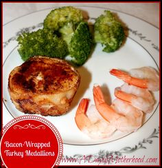 Bacon Wrapped Turkey Tenderloins: Date ideas for Staying IN on Valentine's Day!
