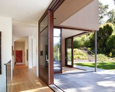 hall by CCS ARCHITECTURE http://www.houzz.com/photos/4085831/Mill-Valley-Residence-modern-hall-san-francisco