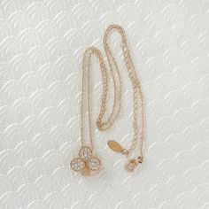 Rose Gold Small Clubs Playing Club  16 Inches Necklace by VenusWho