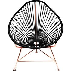 Innit Designs Acapulco Chair | Copper/Black
