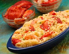 Lobster, Shrimp macaroni and cheese - Amazing!!!! Had this at Red Lobster last nite.