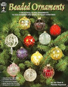 Beaded Ornaments Covers Christmas Patterns 17 by BeadedBundles
