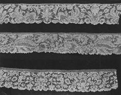 needle lace Border  1690-1720