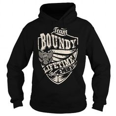 Cool Last Name, Surname Tshirts - Team BOUNDY Lifetime Member Eagle T-Shirts