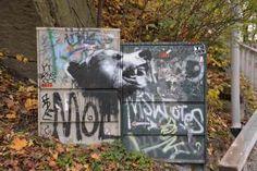 Nuart brings Stencil Art along the River Akerselva, Oslo 2017 Stencil Art, Stencils, Stavanger, Public Art, Oslo, Art Projects, Street Art, Bring It On, River