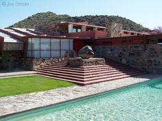 Frank Lloyd Wright, Taliesin West,  Scottsdale, AZ