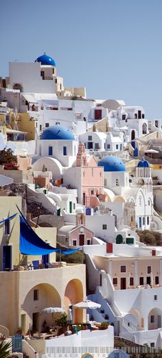 Down the Caldera in Oia ~ Santorini