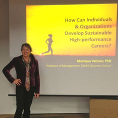 Here I am talking about sustainable careers at the European Social Fund learning seminar in Trento, Italy, Nov. 2014