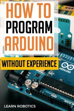 Want to learn how to write an Arduino Program? Write an Arduino program for any robot using the simple steps outlined in this article. Arduino Class, Arduino Programming, Learn Programming, Diy Electronics, Electronics Projects, Diy Tech Gadgets, Learn Robotics, Arduino Beginner, Simple Arduino Projects