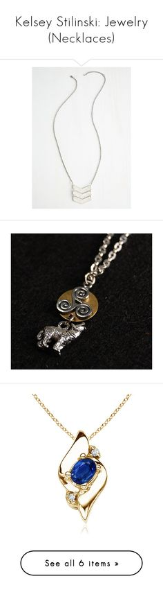 """""""Kelsey Stilinski: Jewelry (Necklaces)"""" by nerdbucket ❤ liked on Polyvore featuring jewelry, necklaces, triple chevron necklace, long pendant, chevron pendant necklace, triple necklace, silver chevron necklace, antique gold jewellery, silver pendant and antique gold necklace"""