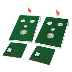 OOFIT Smiling Face Golf Cornhole Game with Chipping Mats Tailgate Chipping Game Set, Great Fun with Friends and Family Golf Swing Analyzer, Golf Practice, Corn Hole Game, Cornhole, Smile Face, Golf Tips, How To Find Out, Gloves, Chips