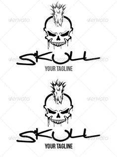 Skull Logo  #GraphicRiver         100% vector, fully editable: colors, text.  	 Font : Bebas Neue :  .dafont /bebas-neue.font and Real Toyz Font :  .dafont /real-toyz.font     Created: 18November13 GraphicsFilesIncluded: VectorEPS #AIIllustrator Layered: No MinimumAdobeCSVersion: CS6 Resolution: Resizable Tags: ai #business #clean #clothing #cool #desing #developer #edit #eps #graphic #illustration #logo #modern #premium #professional #rock #skull #studio