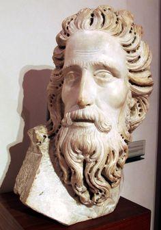 Tino_di_Camaino,_battesimo_di_cristo. Опера дель Дуомо, Тино Camaino (1285-1337), крещение Христа (деталь) 1320.