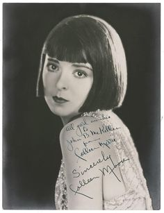 "It was F. Scott Fitzgerald who dedicated the '20s to ""Flaming Youth."" In 1922, silent film star Colleen Moore bobbed her hair and launched the flapper image across the Hollywood screen.  As Fitzgerald put it, ""I was the spark that lit up Flaming Youth and Colleen Moore was the torch."""