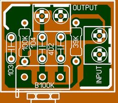passive tone control circuit pcb Guitar Audio Amplifier, Circuit Diagram, Electric Power, Guitar Amp, Electronics Projects, Arduino, Electronic Circuit, Metal Detector, Led