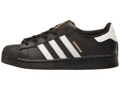 adidas Superstar C Foundation (Little Kid) Originals Kids Shoes Black White  Black 0092f7558