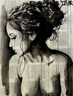 "Saatchi Art Artist Loui Jover; Drawing, ""dreamer"" #art"