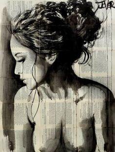"Saatchi Art Artist Loui Jover; Drawing, ""dreamer"" #art"