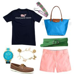 Vineyard vines, jcrew and longchamp