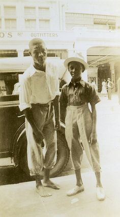 Two Jamaican Boys, Kingston, Jamaica