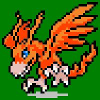 Digimon Pixel Art