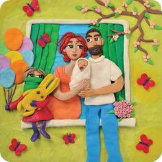 Una historia de amor contada con plastilina | Blog de BabyCenter