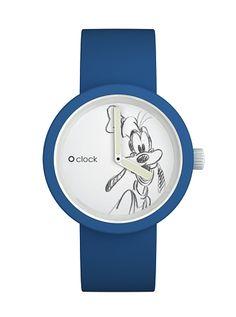 O clock pippo icona con cinturino blu capri