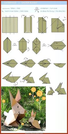 Learn about Step by Step Origami Bunny Origami, Instruções Origami, Origami Star Box, Origami Paper Art, Origami Fish, Origami Butterfly, Origami Folding, Origami Flowers, Paper Crafts