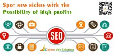 Jayam Web Solutions is a leading SEO Company in Chennai offering SEO and SMO services to generate quality leads for businesses. Get SEO Services and get more Traffic, more leads.http://www.jayamwebsolutions.com/seo-services-company-in-chennai.php