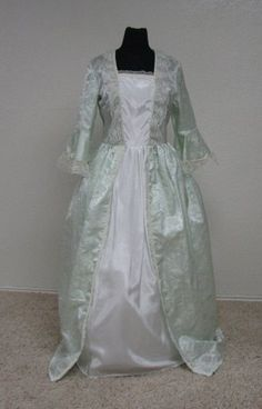 Colonial Style Marie Antoinette Costume Gown made by Enchanted Kingdom
