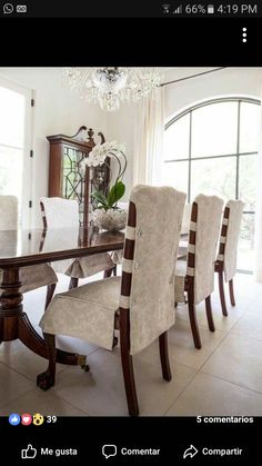 Small Armchairs For Living Room Dining Chair Makeover, Dining Room Chair Slipcovers, Dining Room Chair Covers, Wayfair Living Room Chairs, Dining Room Chairs, Furniture Covers, Home Furniture, Furniture Design, Reupholster Furniture