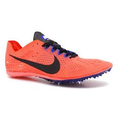 8286efef461b New Nike Zoom Victory 3 Mens Track Field Spikes Mid Distance Racing Shoes  Orange
