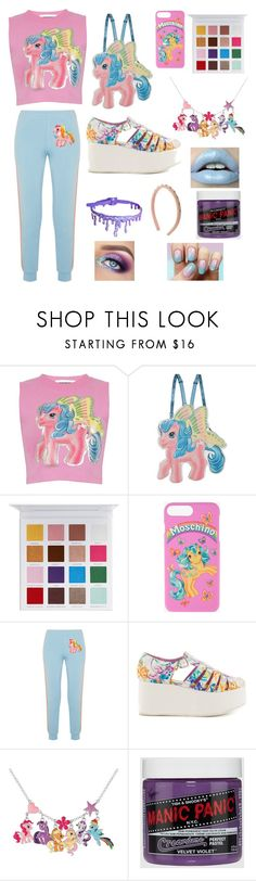 """""""Untitled #12"""" by eponineisyourmom ❤ liked on Polyvore featuring Moschino, My Little Pony, Iron Fist and RED Valentino"""